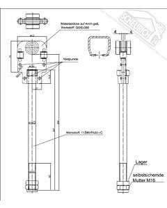 Teckentrup Führungsrolle Falttor S4 LS Doppelband