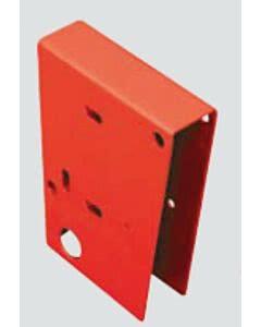 Tousek Kunststoff-Abdeckung für Reflektor und Metallgehäuse:rot