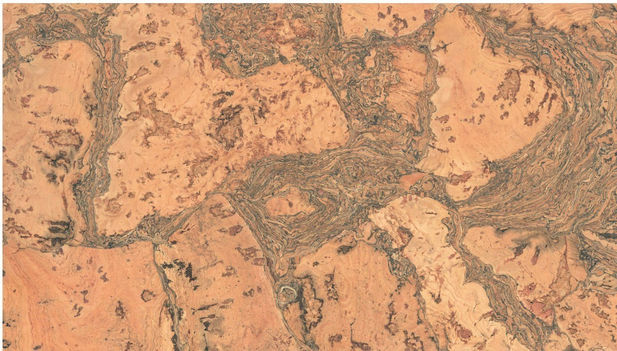 KWG Kork-Wandbelag HYBL 6063 edelfurniert 300x600x3 mm 0,90 m²