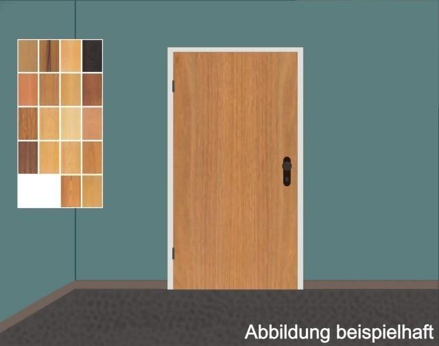 Schörghuber Holz Rauchschutztüre 1.00 mit Stahlzarge, mit absenkbarer Bodendichtung