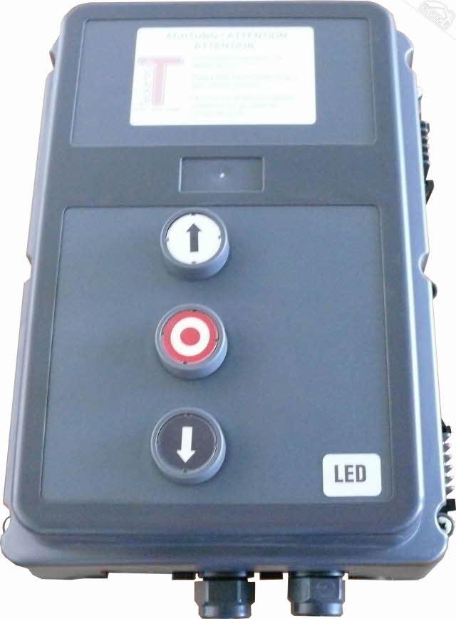 Teckentrup Steuerung CS300 230/400V 3Ph oder Steuerung CS300 230/400V 1Ph für SW, SW 40, SW 80, SLW