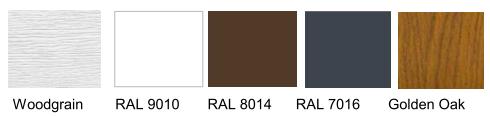 Farben Sektionaltor