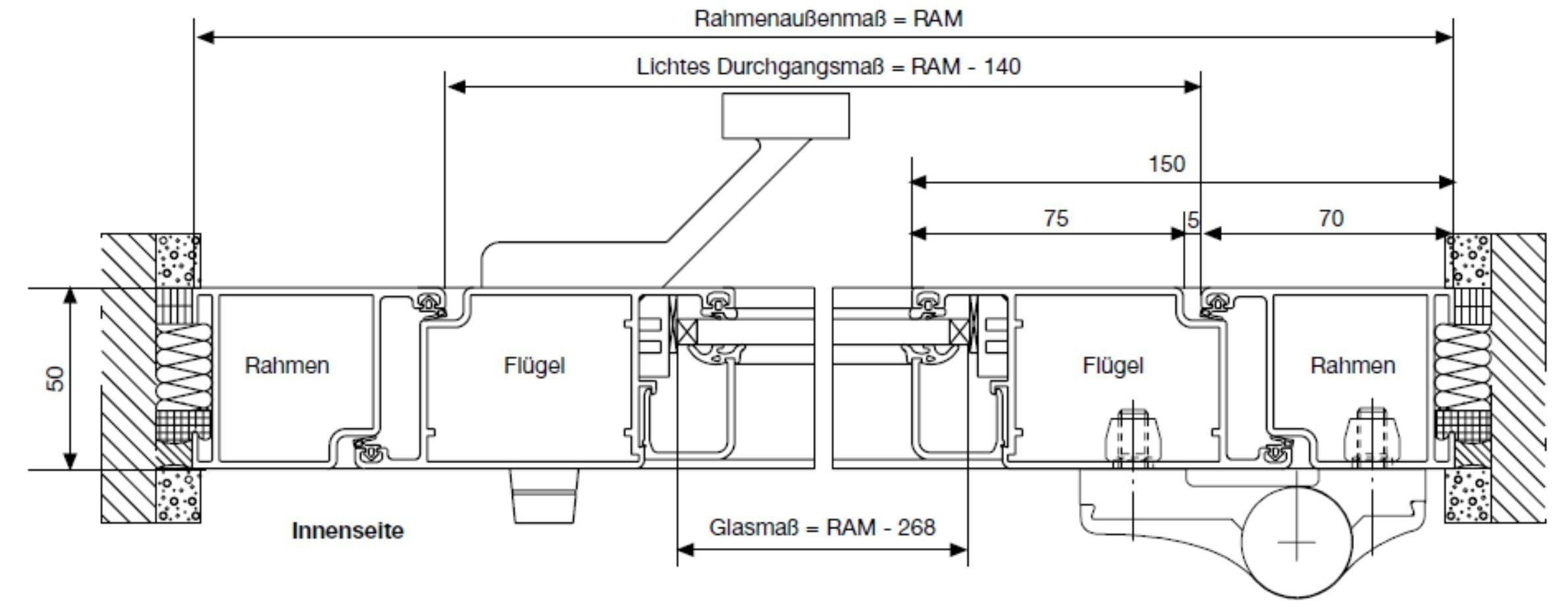 h rmann aluminium innent r es 50. Black Bedroom Furniture Sets. Home Design Ideas