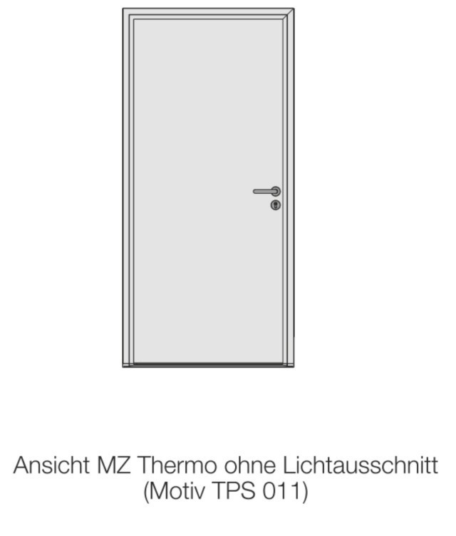 h rmann mz thermo46 mehrzweckt r tps 011. Black Bedroom Furniture Sets. Home Design Ideas