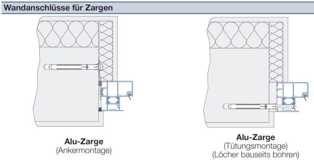 Unterschied eckzarge umfassungszarge  Hörmann KSI Thermo TPS Sicherheitstür » Scheurich24.de