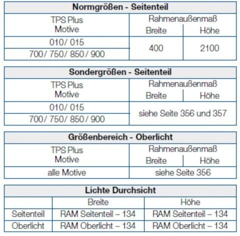 Standardmaß haustür  Hörmann Aktions-Haustür Thermo65 Motiv 010 » Scheurich24.de