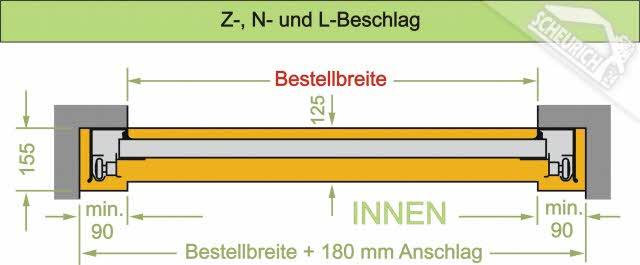 Doppelgaragentor maße  Hörmann Sektionaltor Garagentor » Scheurich24.de