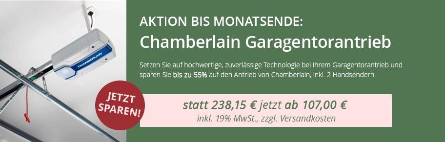 Chamberlain-Aktion-Banner